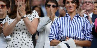 Слёзы, неудачный наряд и сравнения друг с другом: Кейт Миддлтон и Меган Маркл вместе посетили Уимблдон