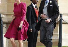 Кейт Миддлтон и Меган Маркл на свадьбе принцессы Евгении