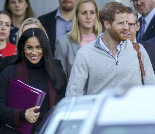 Принц Гарри и Меган Маркл прибыли в Австралию