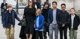 Как Анджелина Джоли воспитывает детей без Брэда Питта