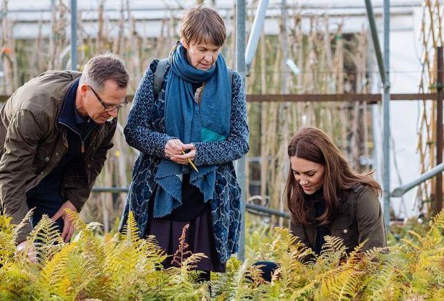 Кейт Миддлтон подготовила тематический сад для выставки цветов в Челси