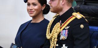 Кейт Миддлтон и Меган Маркл на параде в честь дня рождения Елизаветы II