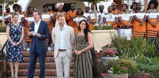 Меган Маркл удивила выбором одежды для тура по Южной Африке