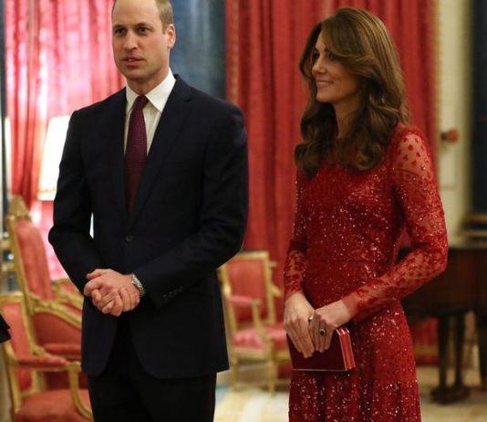 Кейт Миддлтон поддержала мужа на приёме в Букингемском дворце