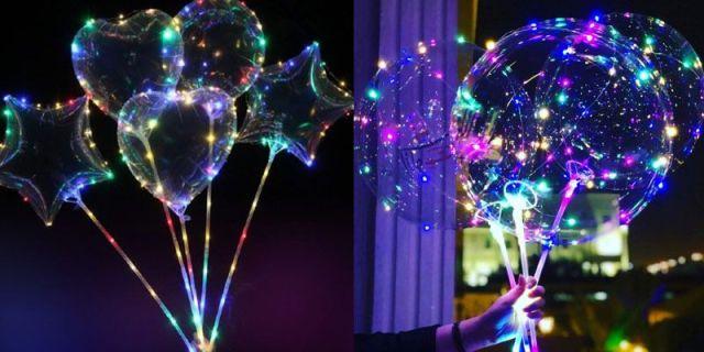 Светящиеся аксессуары для праздника