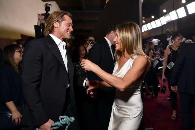Встреча Брэда Питт и Дженнифер Энистон на SAG Awards 2020 затмила их награды