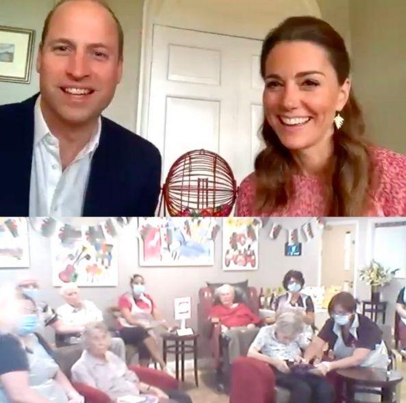 Принц Уильям и Кейт Миддлтон поиграли в лото по видеосвязи