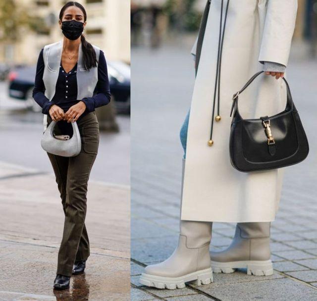 Дизайнерские авоськи, полумесяцы и другие модные сумки 2021