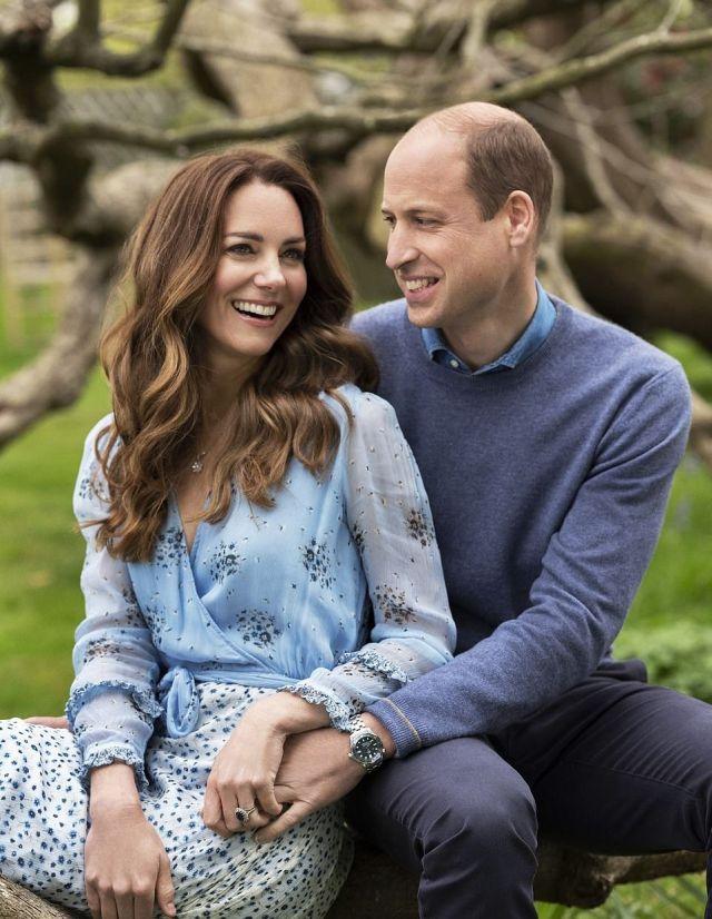 Принц Уильям и Кейт Миддлтон отметили юбилей свадьбы совместными фото