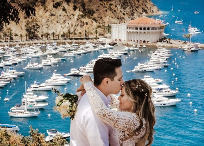 Catalina Island wedding pictures