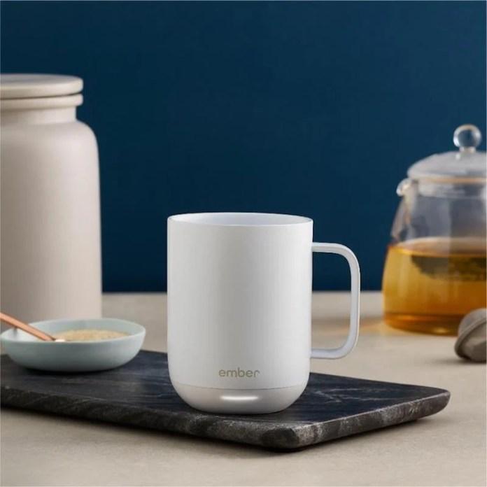 warming coffee mug anniversary gift