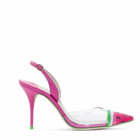 Sophia Webster Daria Watermelon Pink Sling Back