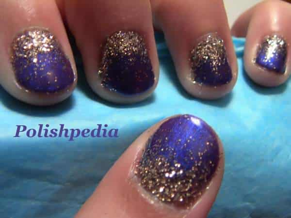 purple-and-gold-glitter-ombre-nails