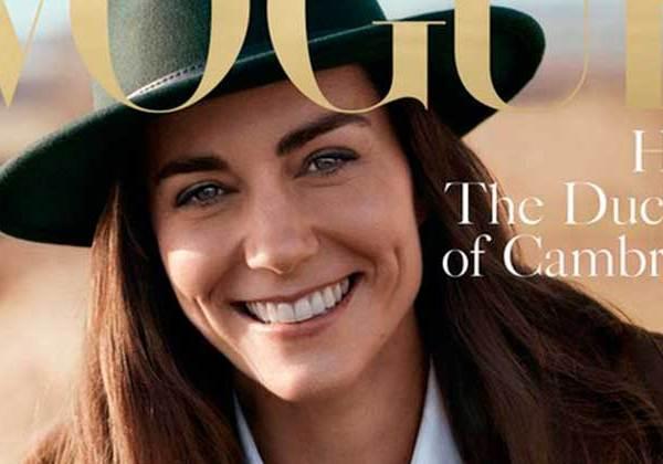 H Κέιτ Μίντλετον Ποζάρει για το Ιστορικό Εξώφυλλο της Vogue