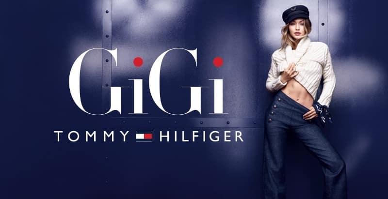 Tommy Hilfiger: μια Συλλογή Σχεδιασμένη με την GIGI HADID