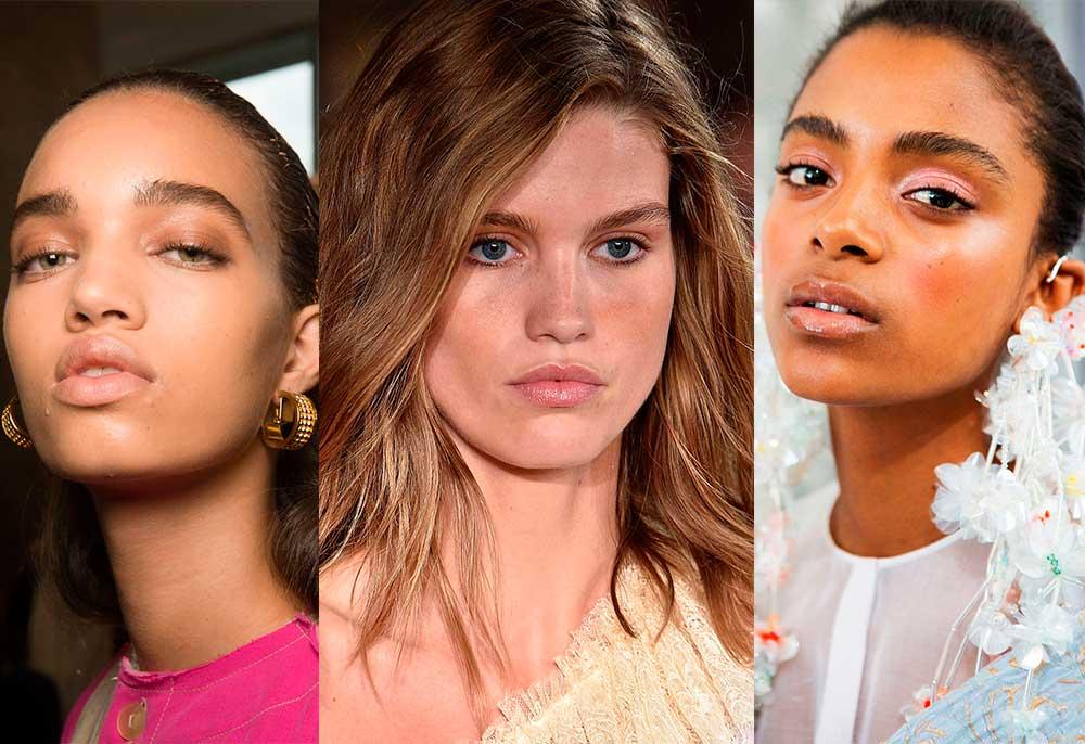 τάσεις μακιγιάζ 2017 άνοιξη καλοκαίρι - glossy χείλη