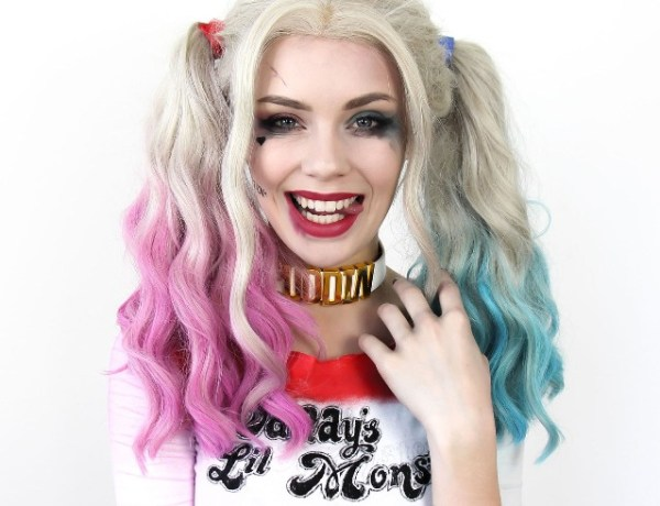 Harley Quinn Μακιγιάζ! Η τέλεια αποκριάτικη μεταμφίεση
