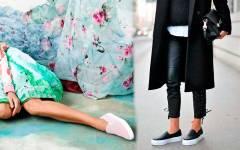 Πως να φορέσεις Slip on Sneakers