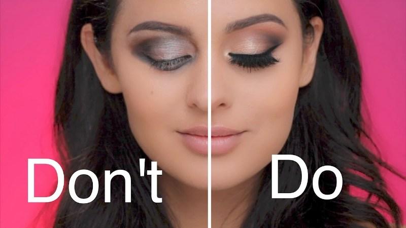 Do's & Dont's του Μακιγιάζ όταν Βάζετε Σκιά στα Μάτια σας