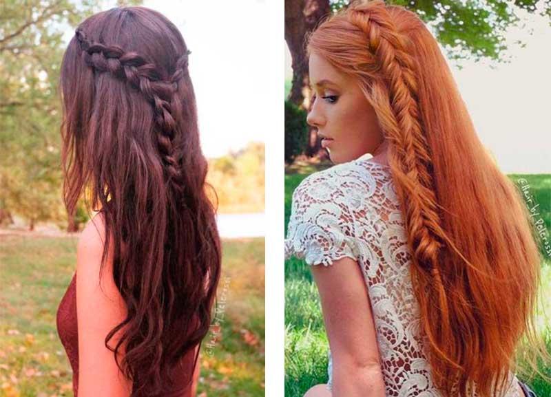 22 Καλοκαιρινά Χτενίσματα για Μακρυά Μαλλιά για τις Διακοπές σας