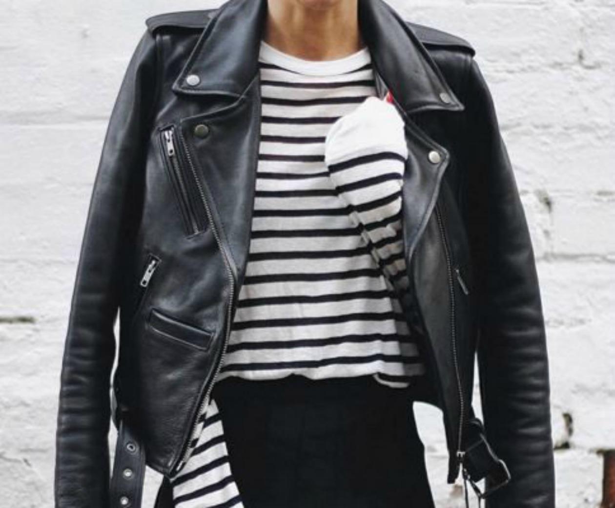 5e5abb143d9 Leather girl! 9 δερμάτινα μπουφάν που θα κάνουν θραύση   womanoclock.gr
