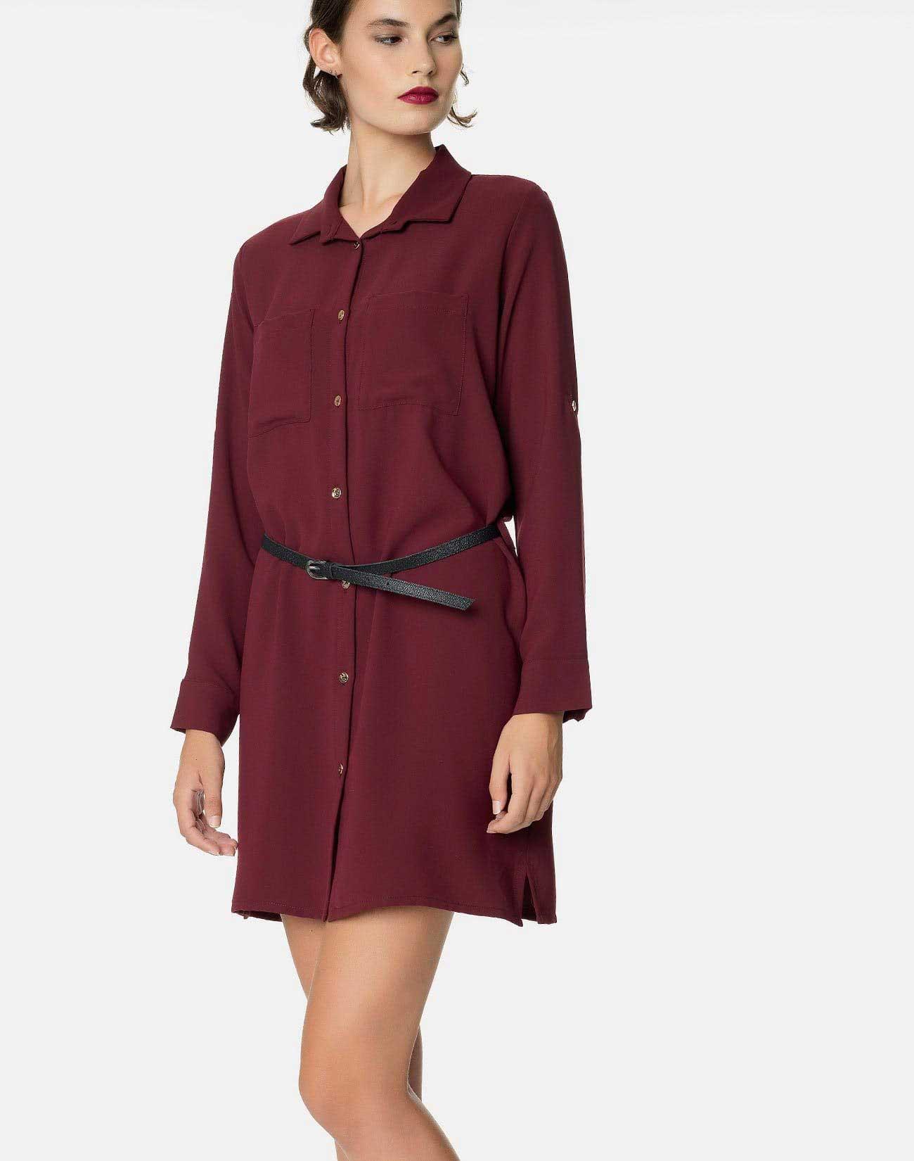 Πουκάμισο Φόρεμα σε 4 χρώματα-αγορά