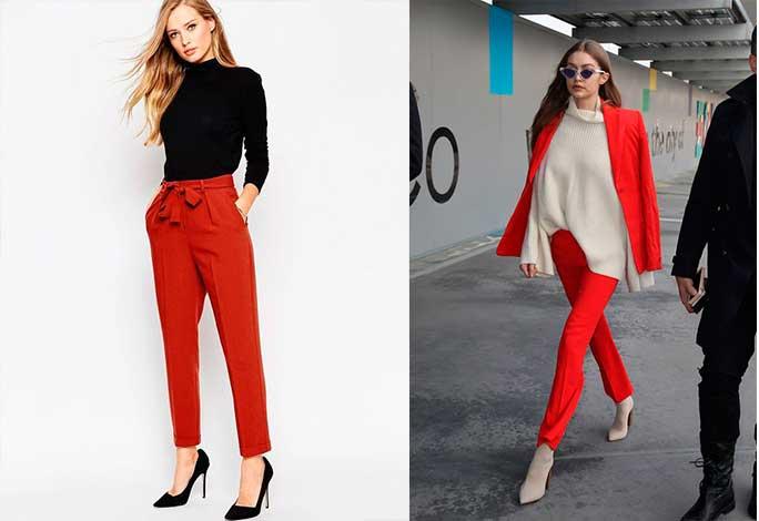 Πως να φορέσεις κόκκινο παντελόνι