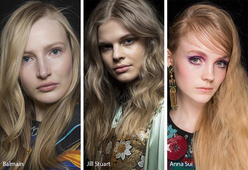 τάσεις χρώματα μαλλιών Φθινόπωρο Χειμώνας 2018 2019