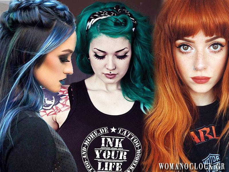 Χρώματα μαλλιών 2019: Οι multi-colored τάσεις του χειμώνα
