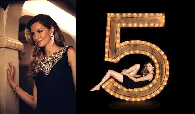 Giselle chanel no 5