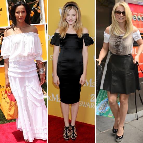 Celebrities-Wearing-Off--Shoulder-Dresses