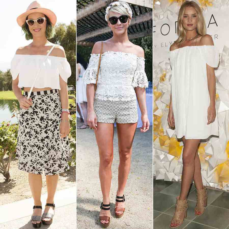 White-Off--Shoulder-Dress-Top