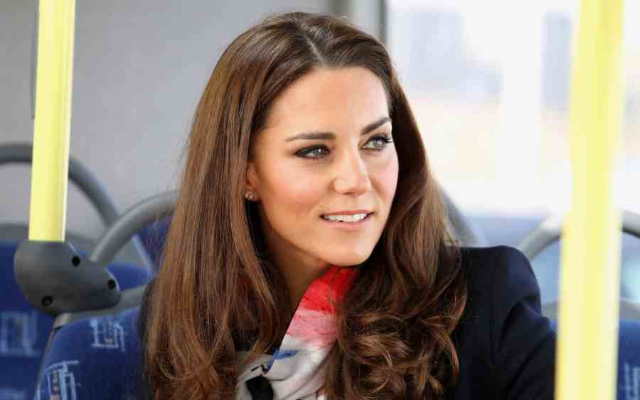 The Duchess of Cambridge visits the Olympic Park