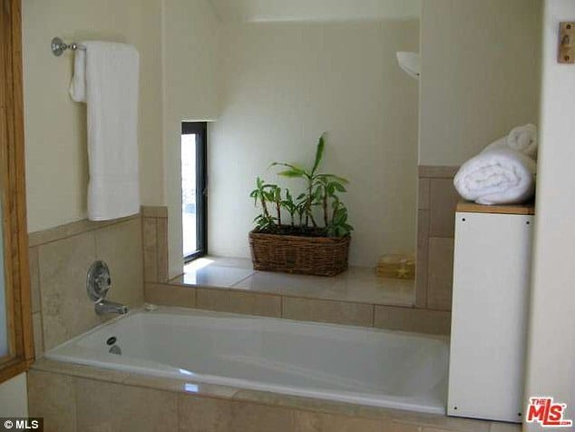 Lana del rey house sunken bath