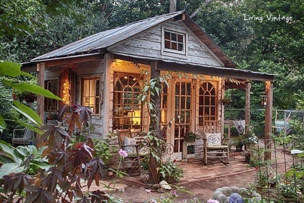 she shed cottage