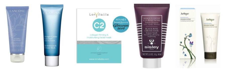 skin care masks