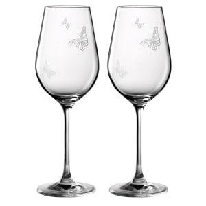miranda kerr royal albert wine glasses