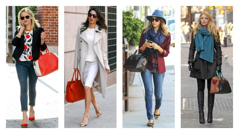 celebrity autumn outfits