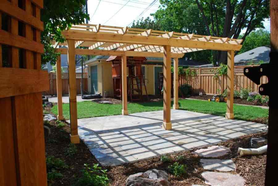 patio garden backyard