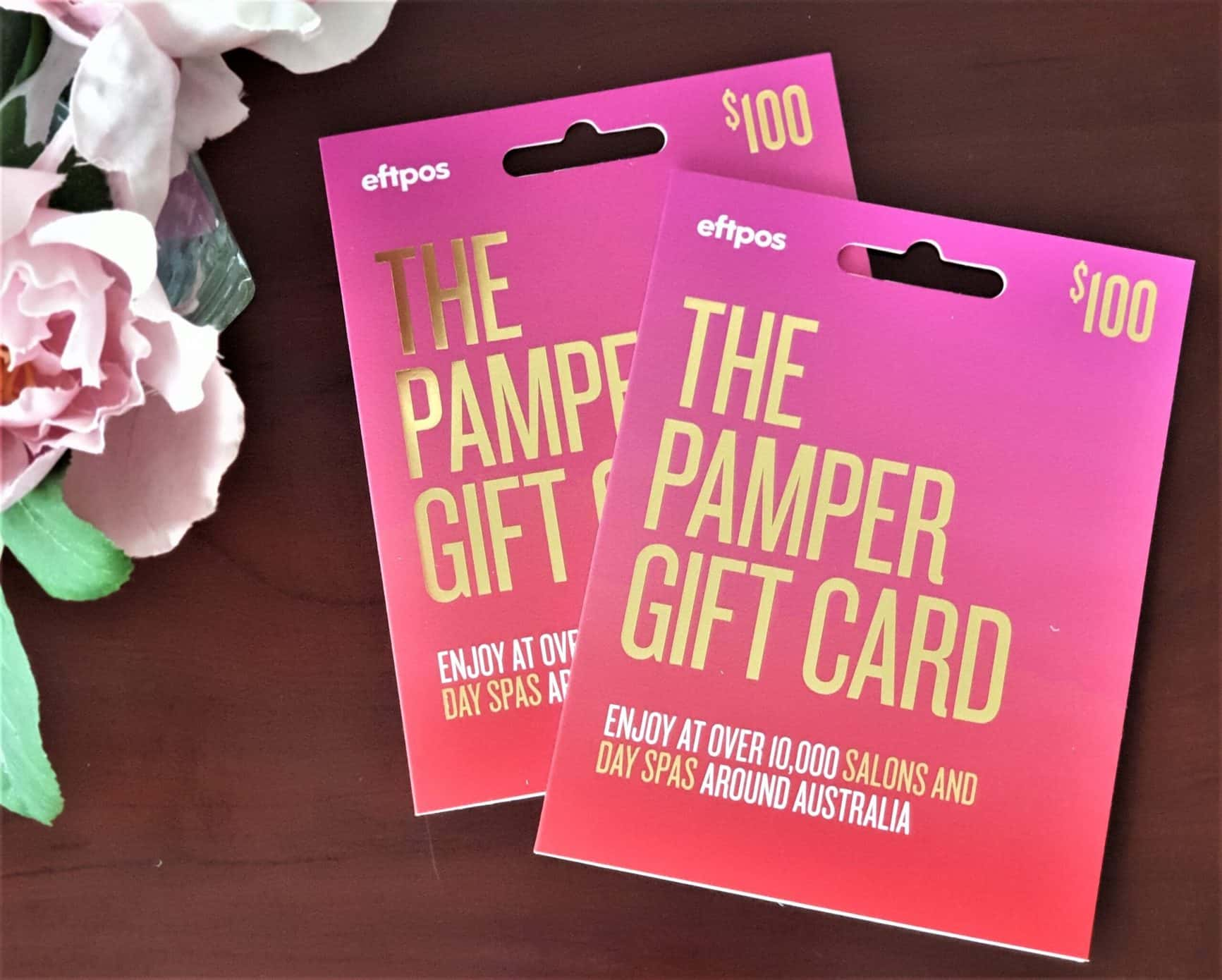 WSS Beauty: Pamper Gift Cards. Win 1 of 2 $100 Gift Cards.