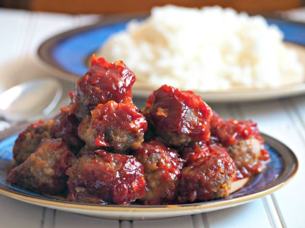 Tender and juicy, these sweet and tangy meatballs are smothered with a rich and tasty sauce.