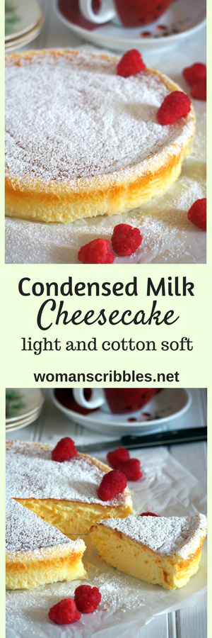 If you want a cheesecake that is light and creamy with just the right level of indulgence, try this condensed milk cheesecake and be delighted by its soft and delicate texture.