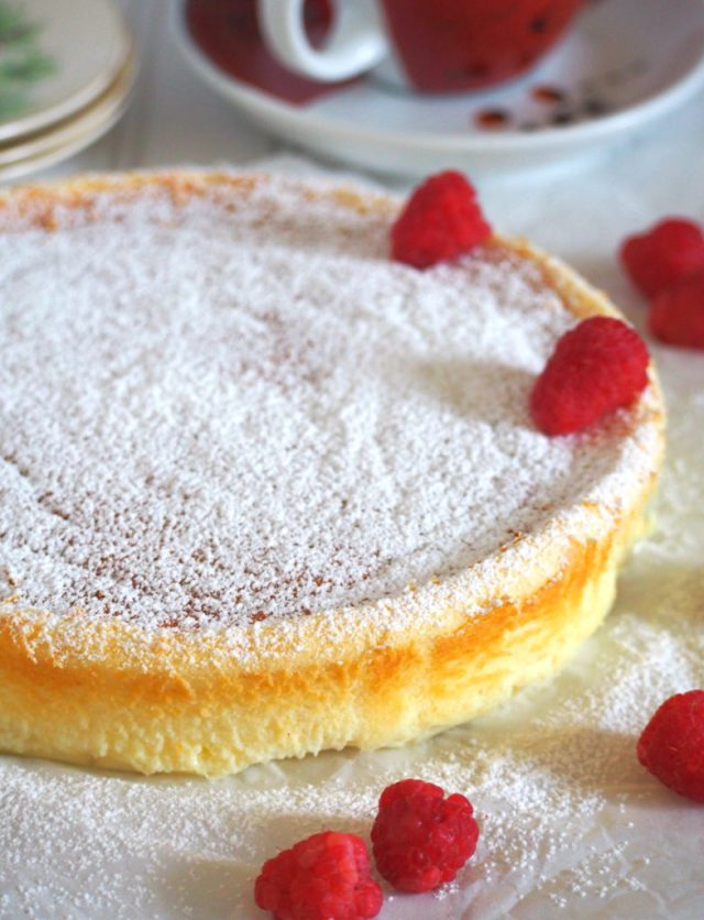 Condensed Milk Cheesecake Is A Light Cake With Very Pleasing Cheese Flavor From The Cream