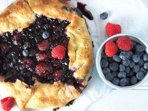 Berries Galette