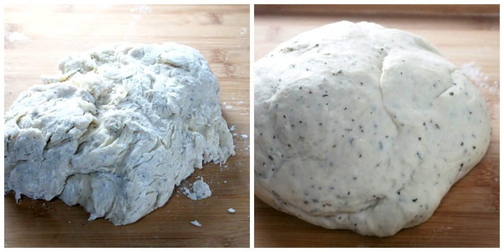 You will love this tasty garlic herb bread that is full of garlic flavor and infused with tasty herbs. This bread is perfect as a side or alone as a filling snack.