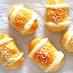 The milky sweet filling of these Coconut Buns makes them so tasty and flavorful. Buttery and moist, these buns are wonderful warm treats to fill you up anytime!
