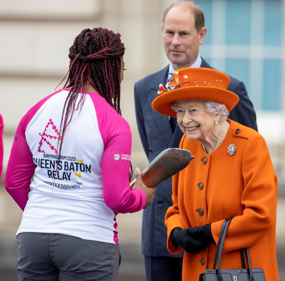 Queen Elizabeth and Kadeena Cox