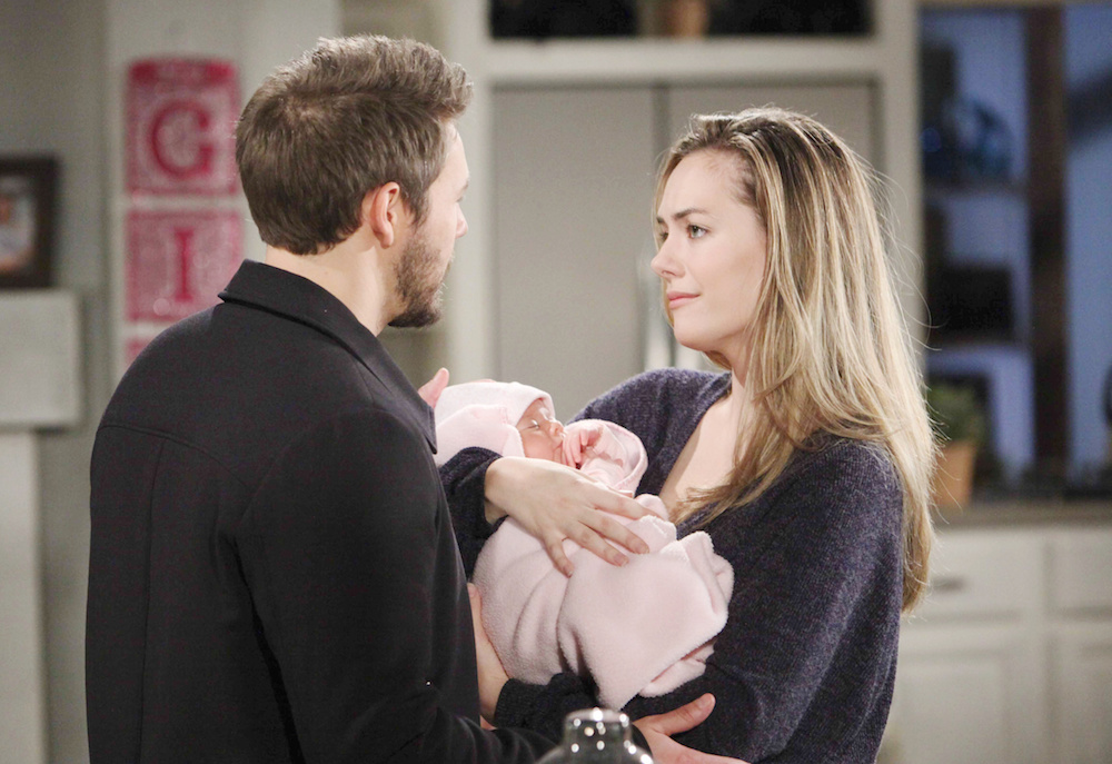 The Bold and The Beautiful Liam Hope Phoebe