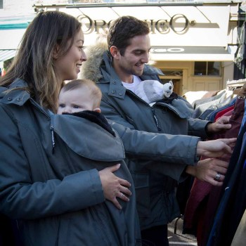 adaptable babywearing coats