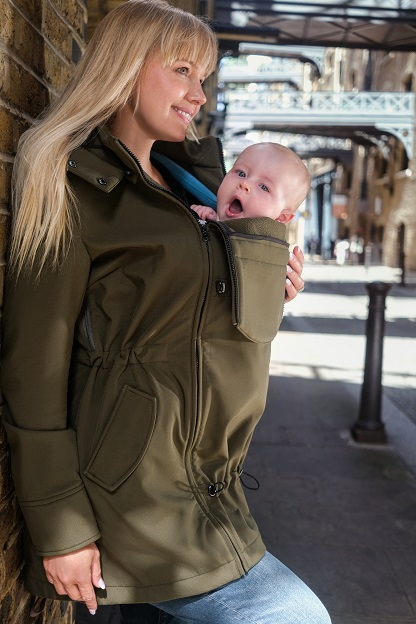 all-year-round babywearing softshell